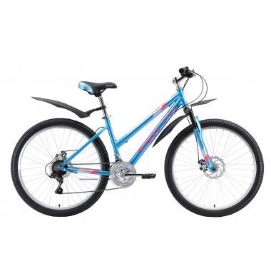 """Велосипед Stark'20 Luna 26.1 D голубой-розовый-серебристый 18"""""""