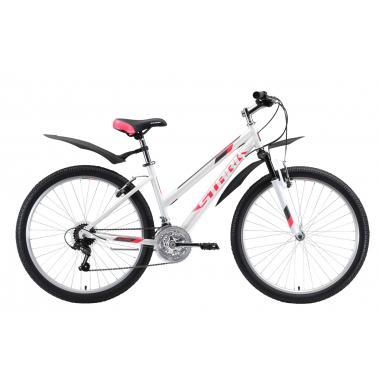 """Велосипед Stark'20 Luna 26.1 D розовый белый серый 18"""""""