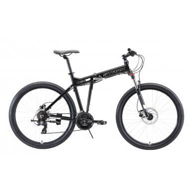 """Велосипед Stark'20 Cobra 27.2 HD чёрный-белый 18"""""""