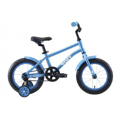 Велосипед Stark'20 Foxy 14 Boy голубой-белый