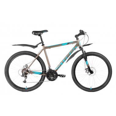 """Велосипед Stark'20 Outpost 26.2 D коричневый-синий-черный 16"""""""