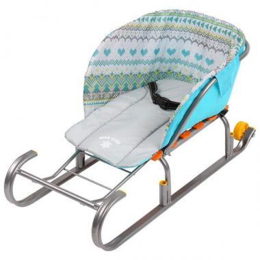 Сиденье для санок без чехла для ног СС2-1
