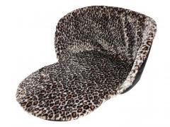Утеплитель для санок универсальный МЕХ Леопард